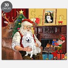 Santa's Eskimo Spitz Puzzle