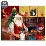 Santa's Tri Aussie (#7) Puzzle
