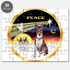 XmasDove/Basenji #2 Puzzle