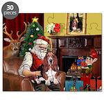 Santa's Basset Hound Puzzle