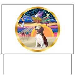 XmasStar/Beagle 2 Yard Sign