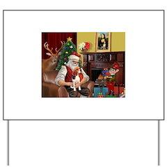 Santa's Beagle Yard Sign