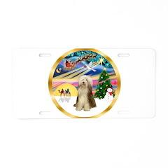 XmasMagic/Beardie #16 Aluminum License Plate