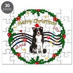 XmasMusic1MC/Border Collie Puzzle