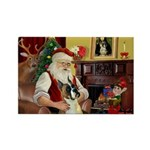 Santa's Boxer (#1) Rectangle Magnet (10 pack)