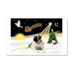 Night Flight/Mastiff 4 Car Magnet 20 x 12