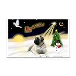 Night Flight/Mastiff 4 Rectangle Car Magnet