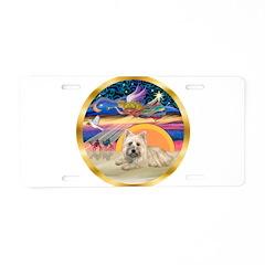 XmasStar/Cairn 4 Aluminum License Plate