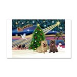 Xmas Magic & 2 Cairns Car Magnet 20 x 12