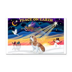 XmasSunrise/Cavalier F1 Rectangle Car Magnet