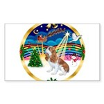XmasMusic 3/Cavalier F1 Sticker (Rectangle 10 pk)
