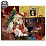 Santa's Cavalier (BL) Puzzle