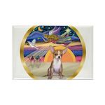 XmasStar/Chihuahua #1 Rectangle Magnet