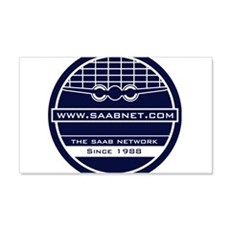 Saabnet.com Logo Wall Decal