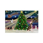 XmasMagic/Crested (#1) Rectangle Magnet (10 pack)