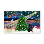 XmasMagic/ Shar Pei Rectangle Car Magnet