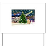 XmasMagic/ Shar Pei Yard Sign