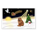 Night Flight/Chow #2 Sticker (Rectangle 10 pk)