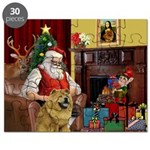 Santa's Chow Chow Puzzle