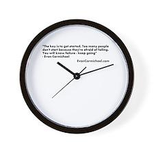 Evan Carmichael Wall Clock