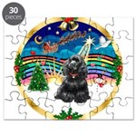 XmasMusic r (blk) #13/Cocker Puzzle