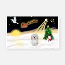 Night Flight/Coton #1 Rectangle Car Magnet