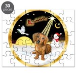 Night Flight/Dachshund #13 Puzzle
