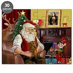 Santa's Dachshund (b) Puzzle