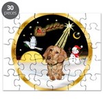 Night Flight/Dachshund #11 Puzzle