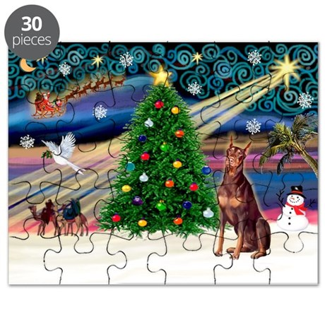 Xmas Magic/Red Dobie Puzzle