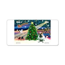 Xmas Magic / EBD Aluminum License Plate