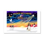XmasSunrise/Eng Springer Car Magnet 20 x 12