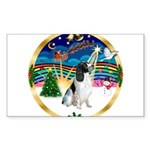 XmasMusic 3/Eng Springer #8 Sticker (Rectangle 50