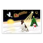 Night Flight/Eng Springer L3 Sticker (Rectangle 50