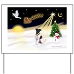 Night Flight/Fox Terrier Yard Sign