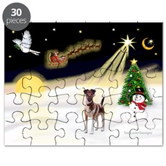 Night Flight/Fox Terrier 5 Puzzle