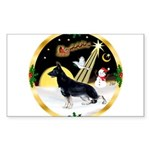 NightFlight-German Shep3 Sticker (Rectangle 50 pk)