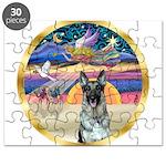 XmasStar/German Shepherd 12 Puzzle