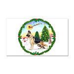 Take Off1/German Shepherd Car Magnet 20 x 12