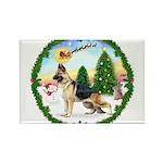 Take Off1/German Shepherd Rectangle Magnet (10 pac