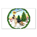 Take Off1/German Shepherd Sticker (Rectangle 50 pk