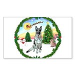 Take Off1/ German Shepherd Sticker (Rectangle 50 p