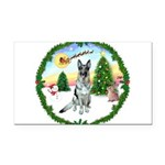 Take Off1/ German Shepherd Rectangle Car Magnet