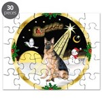 Night Flight/ German Shepherd Puzzle