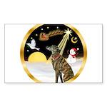 Night Flight/Greyhound (brin) Sticker (Rectangle 5