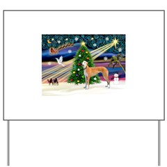 XmasMagic/Greyhound Yard Sign