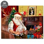 Santa's Ital Greyhound Puzzle