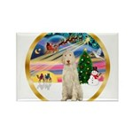 XmasMagic/Spinone #11 Rectangle Magnet (10 pack)