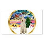 XmasMagic/Spinone #11 Sticker (Rectangle 10 pk)