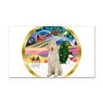 XmasMagic/Spinone #11 Rectangle Car Magnet